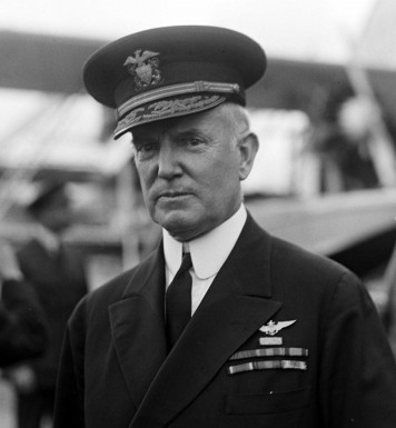 Admiral William A. Moffett, killed in the crash of USS Akron