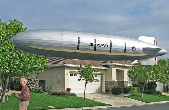 R/C Model of USS Macon