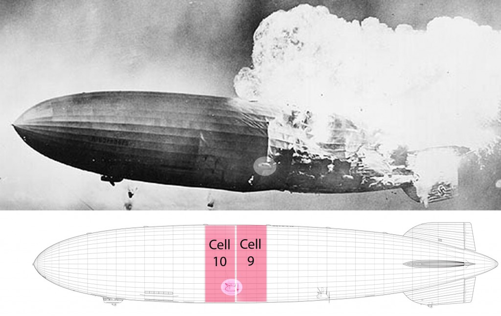 Gas cells 9 and 10; forward engine car highlighted to show of images. (click to enlarge)