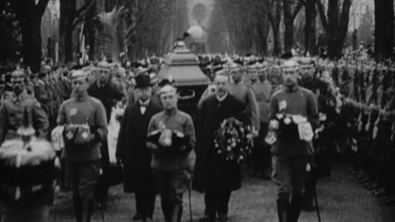 Count Zeppelin's Funeral Procession