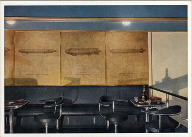 Pressurized Smoking Room aboard LZ-129 Hindenburg