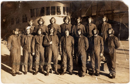 German Zeppelin Company crew of LZ-126 / ZR-3. October, 1924.