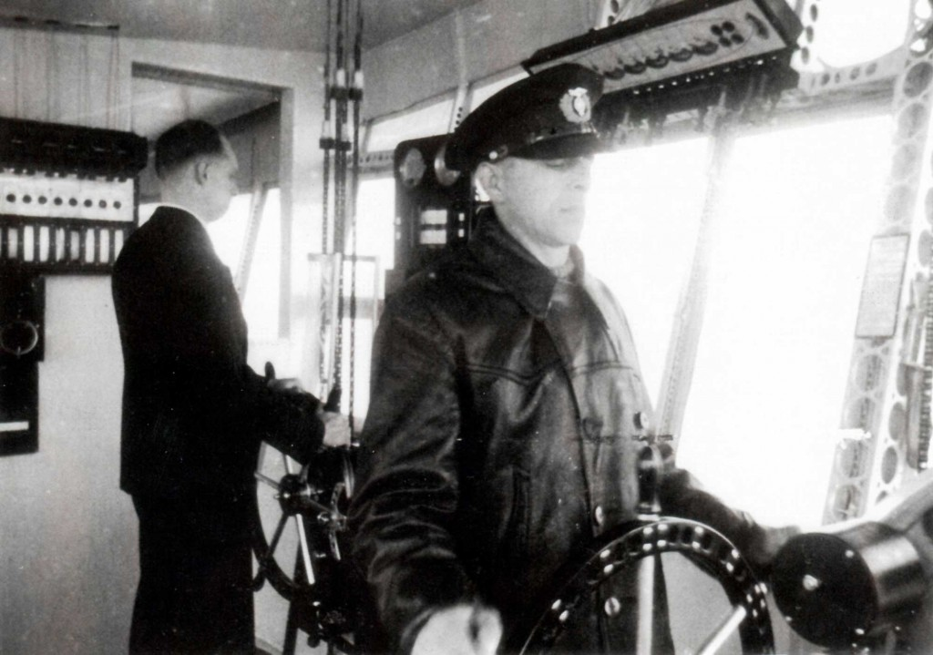 Ludwig Felber at Hindenburg's Helm