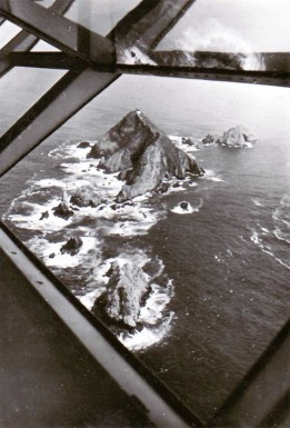 View from A Deck windows off the coast of Spain